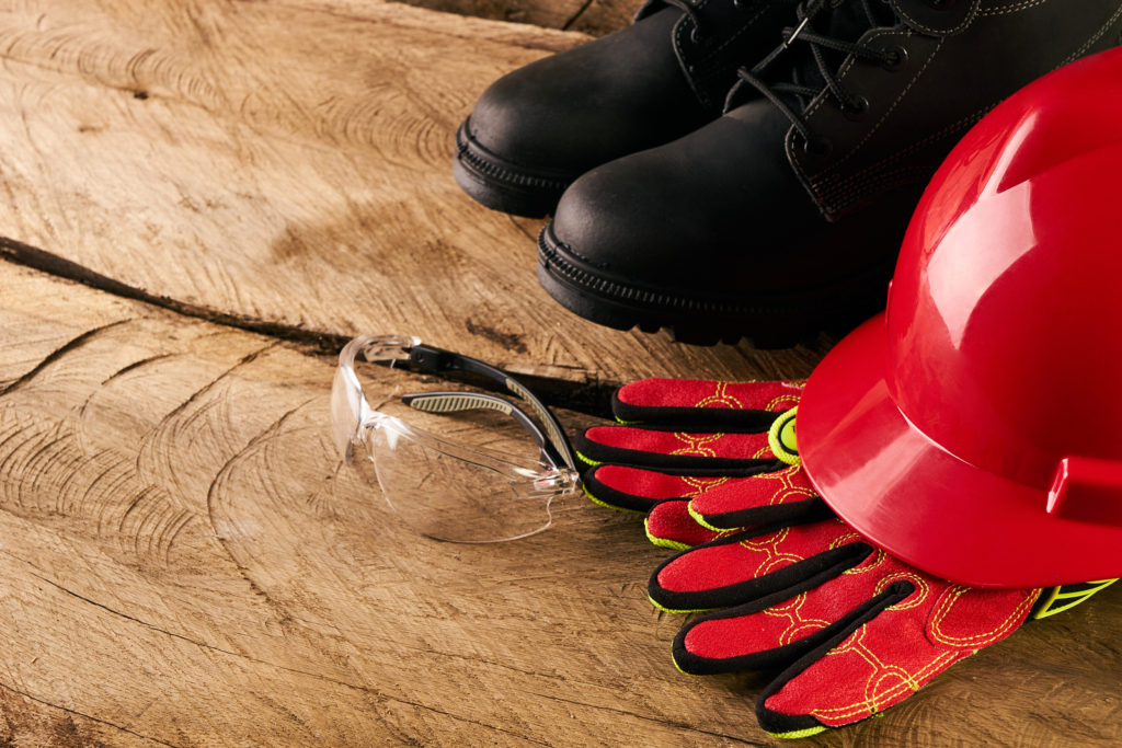 safety equipment for construction workers